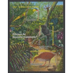 New Caledonia - Blocks and sheets - 2006 - Nb BF36 - Birds