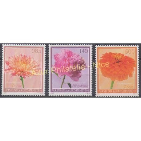 Liechtenstein - 2012 - No 1574/1576 - Fleurs