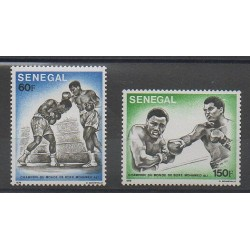 Sénégal - 1977 - No 454/455 - Sports divers