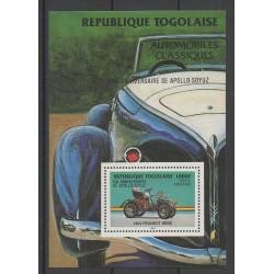 Togo - 1986 - No BF247 - Voitures