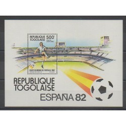 Togo - 1982 - Nb BF163 - Soccer World Cup