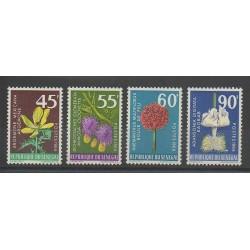 Senegal - 1966 - Nb 280/283 - Flowers