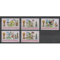Senegal - 1974 - Nb 401/404 - 407 - Soccer World Cup