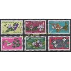 Gabon - 1972 - No 283/288 - Fleurs