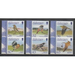 Aurigny (Alderney) - 2004 - Nb 237/242 - Birds