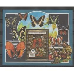 Centrafricaine (République) - 1990 - No BF104B - Scouts - Papillons