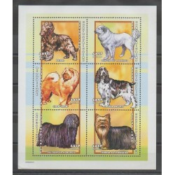 Central African Republic - 2001 - Nb 1769/1774 - Dogs