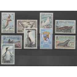 TAAF - 1959 - No 12/17 - Oiseaux