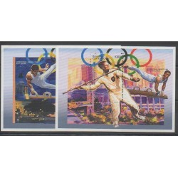 Centrafricaine (République) - 1996 - No BF127A/BF127B - Jeux Olympiques d'été