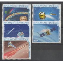 Centrafricaine (République) - 1986 - No 341/345 - Astronomie