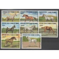 Comoros - 1983 - Nb 396/403 - Horses