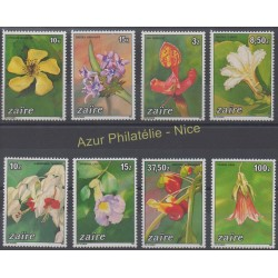 Zaïre - 1984 - No 1161/1168 - Fleurs