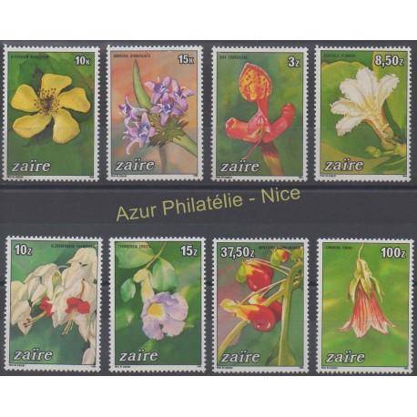 Zaire - 1984 - Nb 1161/1168