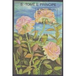 Saint Thomas and Prince - 1991 - Nb BF 94 - Roses