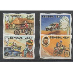 Sénégal - 1988 - No 750/753 - Sports divers - Motos