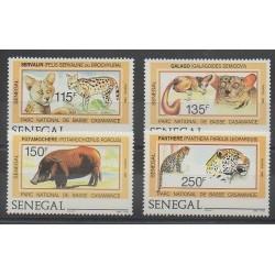 Sénégal - 1987 - No 722/725 - Animaux