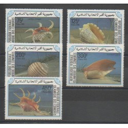 Comoros - 1985 - Nb 421/425 - Sea animals