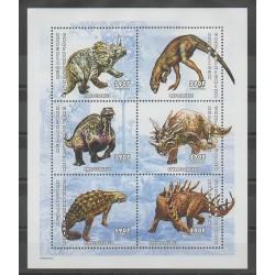 Centrafricaine (République) - 2001 - No 1763/1768 - animaux préhistoriques