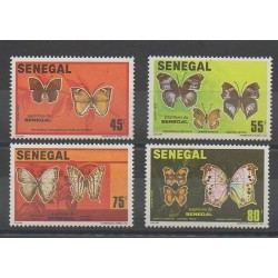 Sénégal - 1982 - No 566/569 - Insectes