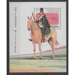 Togo - 1997 - No BF315 - Histoire militaire - Chevaux