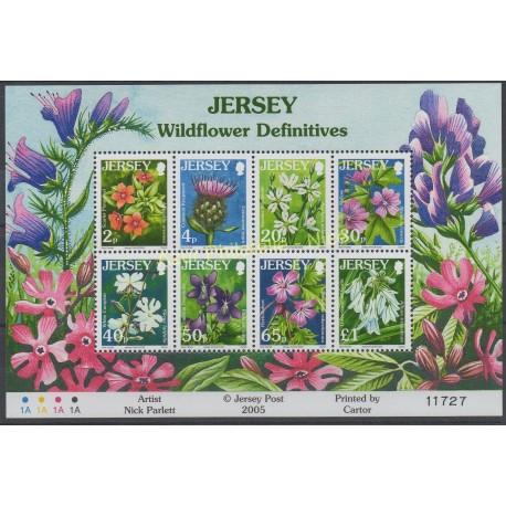 Jersey - 2005 - No BF 63 - Fleurs