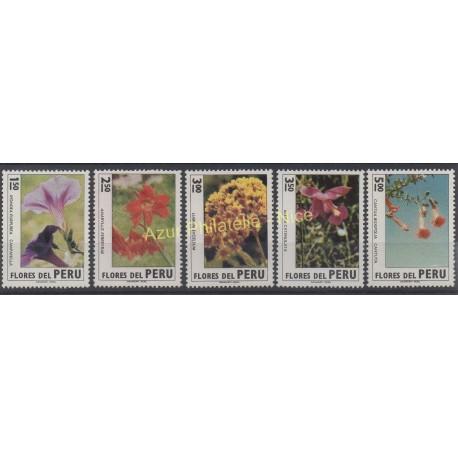 Peru - 1972 - Nb 580/584