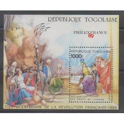 Togo - 1989 - No BF277 - Révolution Française