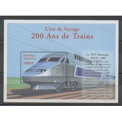 Togo - 2000 - Nb BF335 - Trains