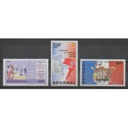 Sénégal - 1989 - No 797/799 - Révolution Française