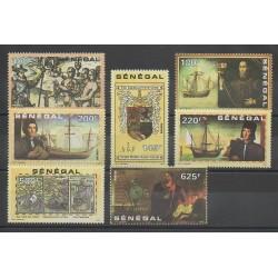 Sénégal - 1991 - No 912/918 - Christophe Colomb