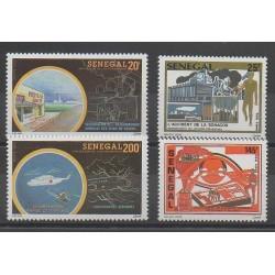 Sénégal - 1993 - No 1033/1036 - Environnement