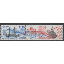 TAAF - Poste aérienne - 1989 - No PA106A - Bateaux
