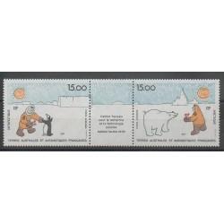 TAAF - Poste aérienne - 1992 - No PA120A - Régions polaires