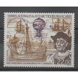 French Southern and Antarctic Lands - Airmail - 1992 - Nb PA122 - Christophe Colomb
