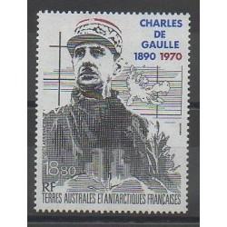 TAAF - Poste aérienne - 1991 - No PA118 - De Gaulle