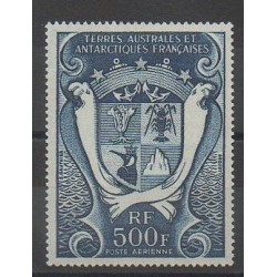 French Southern and Antarctic Lands - Airmail - 1970 - Nb PA21 - Coats of arms