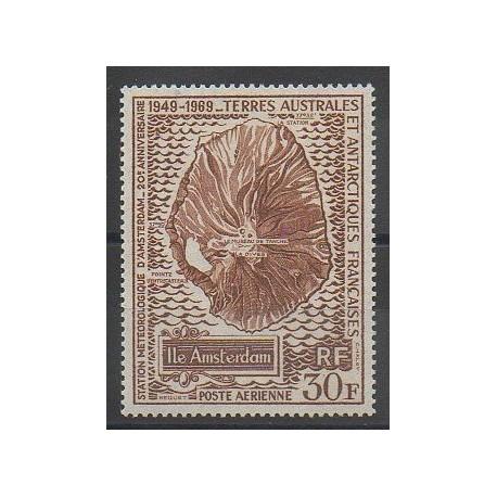 TAAF - Poste aérienne - 1970 - No PA22 - Polaire