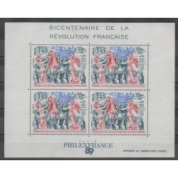 French Southern and Antarctic Lands - Blocks and sheets - 1989 - Nb BF1 - French Revolution