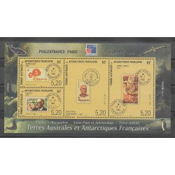 French Southern and Antarctic Lands - Blocks and sheets - 1999 - Nb BF3 - Stamps on stamps