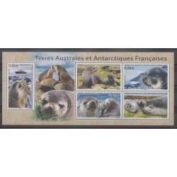 French Southern and Antarctic Lands - Blocks and sheets - 2010 - Nb BF23 - Mamals - Sea animals
