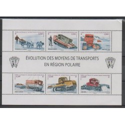 French Southern and Antarctic Territories - Post - 2010 - Nb 560/565 - Transport