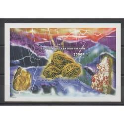 Centrafricaine (République) - 1998 - No BF153 - Minéraux - Pierres précieuses