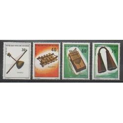 Congo (Republic of) - 1975 - Nb 390/393 - Music