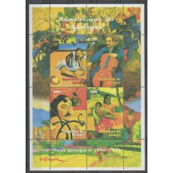 Sénégal - 1999 - No 1578/1581 - Peinture