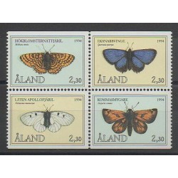 Aland - 1994 - Nb 82/85 - Insects