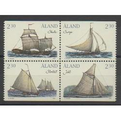 Aland - 1995 - No 95/98 - Bateaux