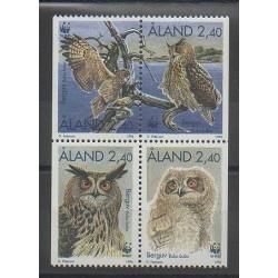 Aland - 1996 - No 109/112 - Oiseaux