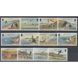 Man (Isle of) - 1983 - Nb 219/230 - Birds