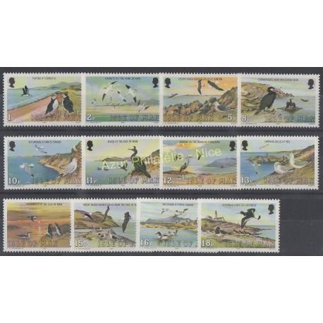 Man (Ile de) - 1983 - No 219/230 - Oiseaux