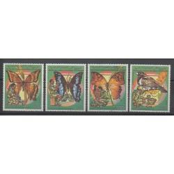 Comores - 1989 - No 492/495 - Scouts - Insectes